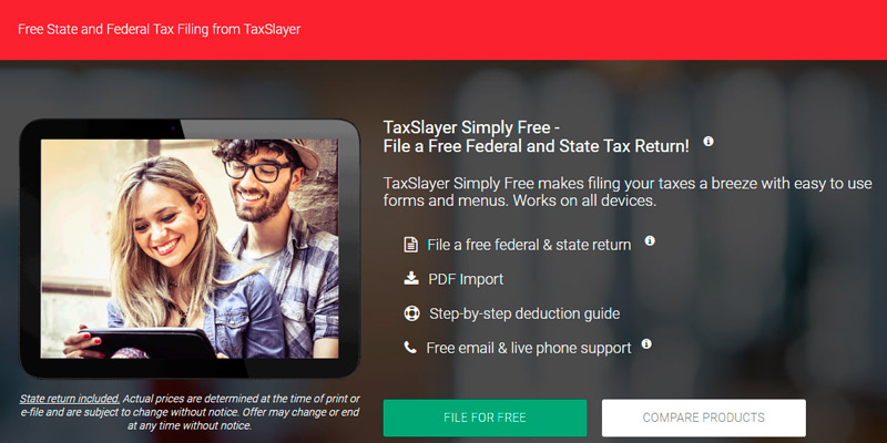 Detailed review of TaxSlayer Tax Software