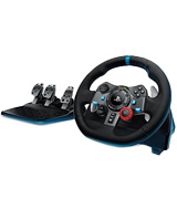 Logitech G29 (941-000110) Dual-motor Feedback Driving Force Racing Wheel with Responsive Pedals