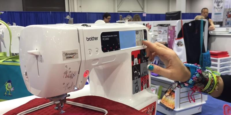 Review of Brother PE540D Embroidery Machine with Disney Designs