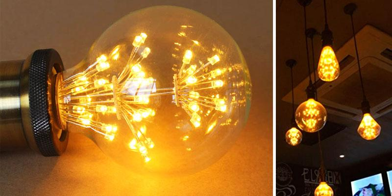 Review of Lightstory Starry Decorative LED Bulb