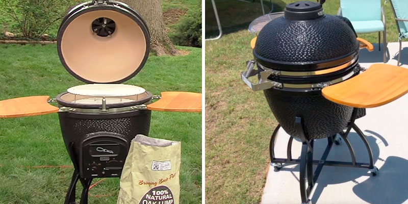Review of Vision Grills CF1F1 Pro Kamado BBQ Grill
