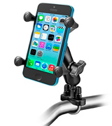 RAM RAM-B-149Z-UN7U Handlebar Mount with U-Bolt Base and Universal X-Grip Cell Phone Holder