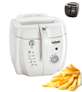 Presto 05443 CoolDaddy Cool-touch Deep Fryer