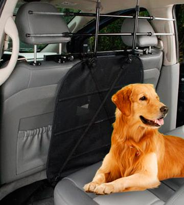 Review of Walky Guard Adjustable Car Barrier for Pet