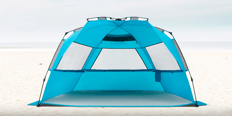 Review of Pacific Breeze Products Easy Up Deluxe XL Beach Tent