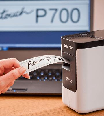 Review of Brother PT-P700 PC Connectable Label Maker