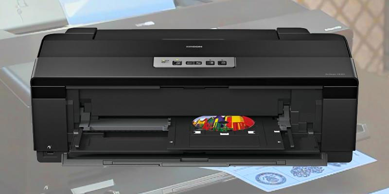 Epson Artisan 1430 (C11CB53201) Wireless Color Wide-Format Inkjet Printer in the use
