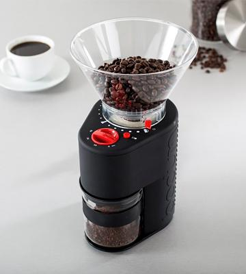 Review of BODUM Bistro Electric Electronic Coffee Grinder with Continuously Adjustable Grind