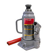 Pro-Lift B-012D Grey Hydraulic Bottle Jack (12 Ton Capacity)