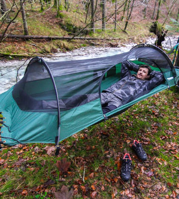 Review of Lawson Hammock Blue Ridge for Camping