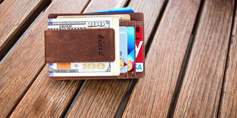 Review of Kinzd Money Clip Front Pocket Wallet