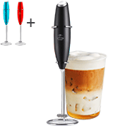 Zulay High Powered Milk Frother Handheld