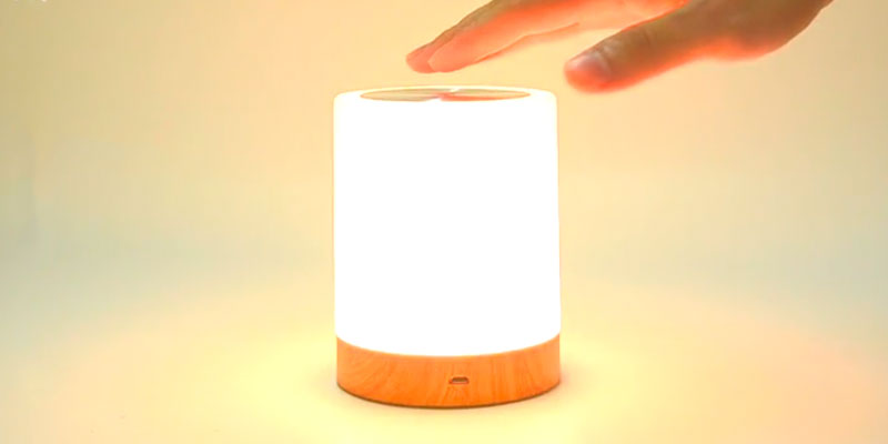 Review of KMASHI Night Light Bedside Table Lamps for Bedrooms