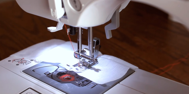 Brother CS6000i Feature-Rich Sewing Machine With 60 Built-In Stitches in the use
