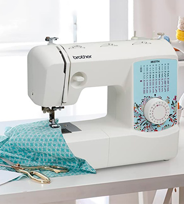 Review of Brother XR3774 Full-Featured Sewing and Quilting Machine