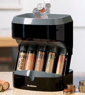 Review of Brookstone Motorized Coin Sorter