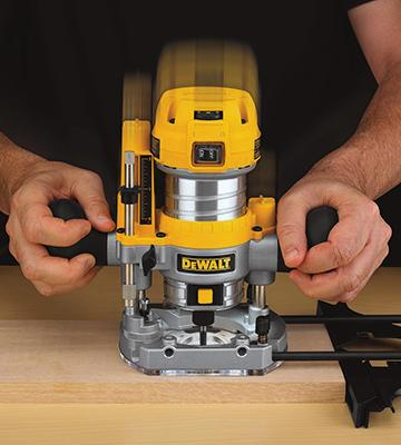 Review of DEWALT DWP611PK Variable Speed Compact Router Combo Kit with LED's