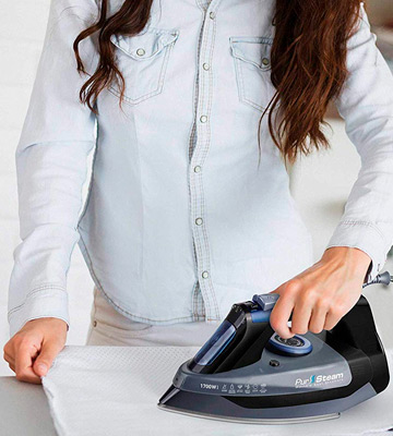 Review of PurSteam World's Best Steamers Steam Iron Professional Grade 1700W for Clothes