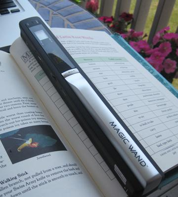Review of VuPoint Solutions MagicWand Portable Scanner