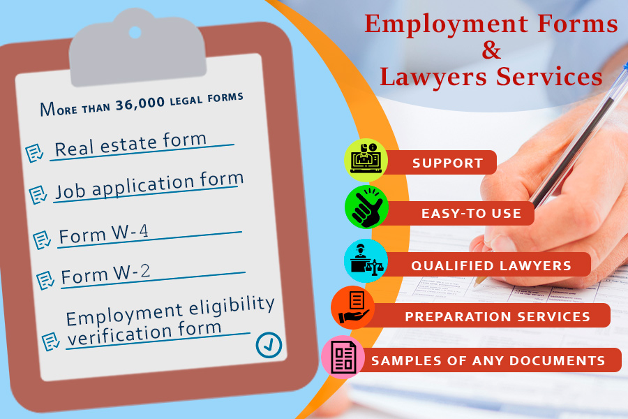 Comparison of Employment Forms & Lawyers Services