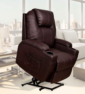 Review of U-MAX Power Lift Recliner Heated Vibration Massage Chair