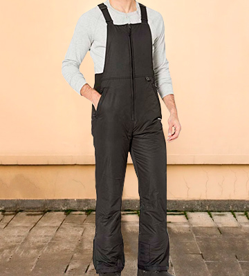 Review of Arctix Men's Essential Insulated Bib Overalls