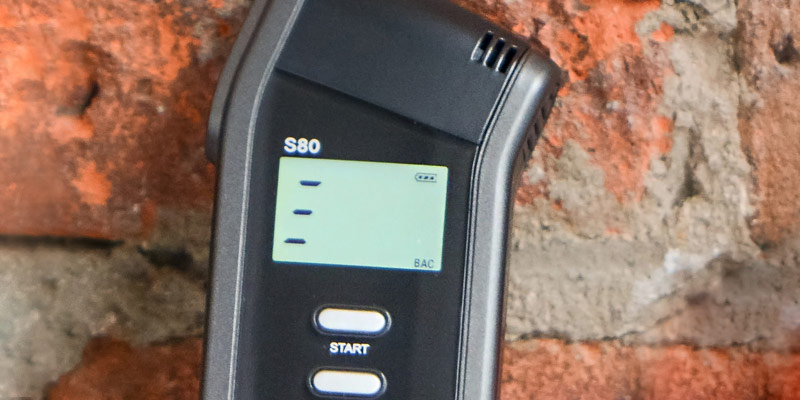 Review of BACtrack S80 Professional Breathalyzer Alcohol Tester