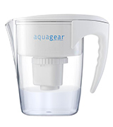 Aquagear Water Filter Pitcher Fluoride and Lead
