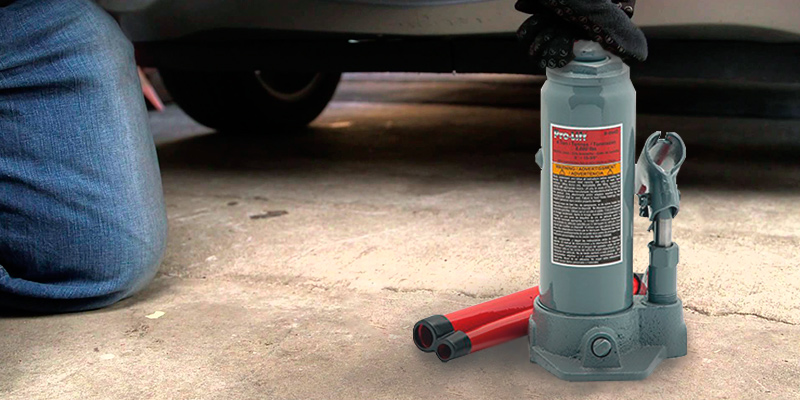 Review of Pro-Lift B-004D Grey Hydraulic Bottle Jack (4 Ton Capacity)