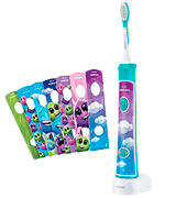 Philips Sonicare for Kids (HX6321/02) Bluetooth Connected Rechargeable Electric Toothbrush for Kids