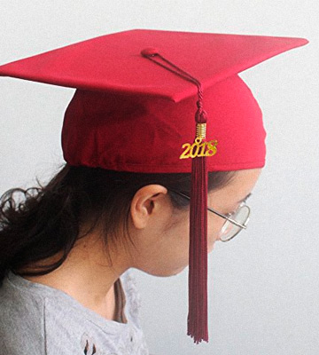 Review of Robe Depot Unisex Adult Matte Graduation Cap with Tassel 2018