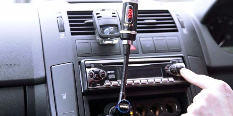 Review of Mpow Streambot Y Wireless Bluetooth FM Transmitter with Charger