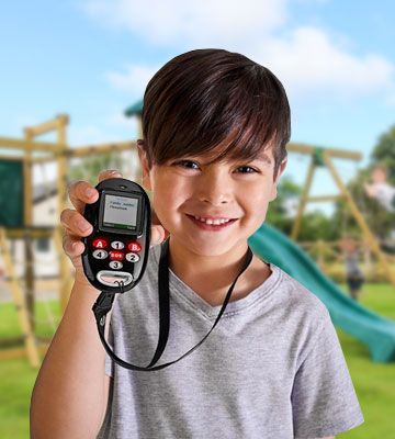Review of KidsConnect KC-1 GPS Tracker Cell Phone Wearable for Kids & Children All in One Security Solution