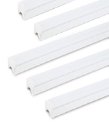Hypergiant Hypergiant-T5_8P (Pack of 8) LED T5 Integrated Single Fixture, with built-in ON/OFF switch