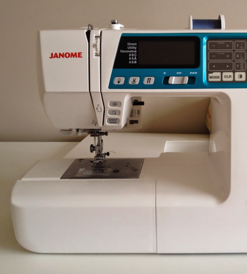Review of Janome 4120QDC Computerized Sewing Machine