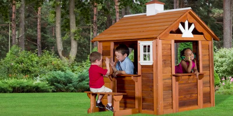 Detailed review of Backyard Discovery Summer Cottage All Cedar Wood