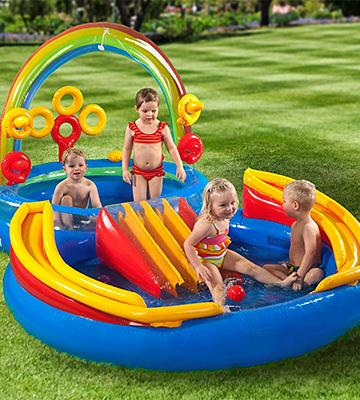 Review of Intex Rainbow Ring Inflatable Play Center