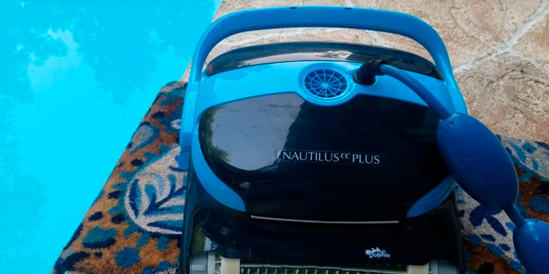 Dolphin Nautilus CC Plus Robotic Pool Cleaner in the use