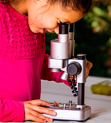 Review of National Geographic NGMICROSCOPE Dual Microscope Science Lab