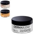 Dermablend Setting Powder Loose Powder for Finishing and Setting Makeup
