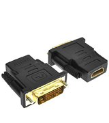 Importer520 Adapter Gold Plated HDMI Female to DVI-D Male Video Adapter