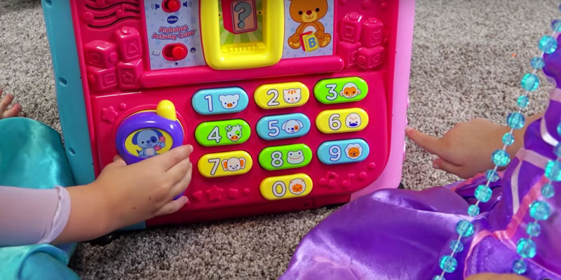 Review of VTech Alphabet Activity Cube