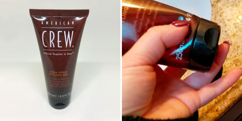 Review of AMERICAN CREW Firm Hold Styling Gel