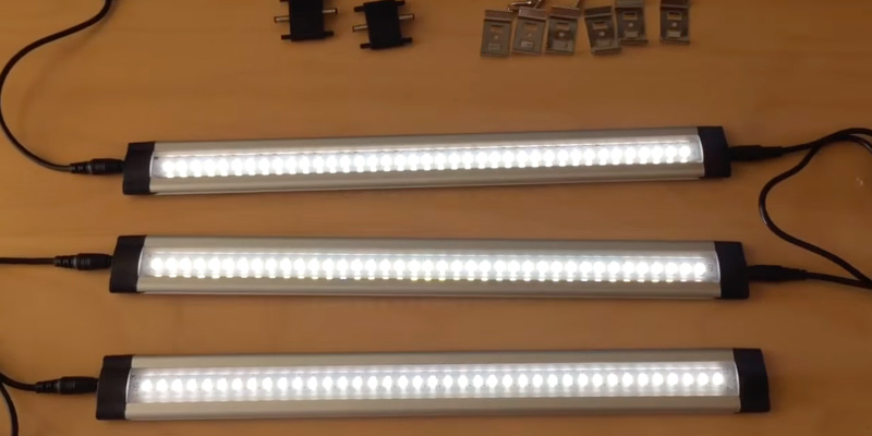 Review of Litever LL-008-6W Under Cabinet LED Lighting Kit