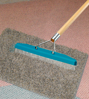 Review of Carlisle 4575100 Commercial Grade 18 Carpet Rake/Groomer