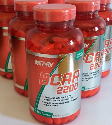 Review of MET-Rx BCAA 2200 (180 count) BCAA Supplement
