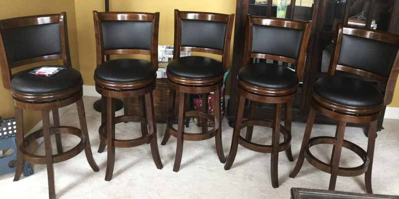 Detailed review of Boraam Swivel Barstool