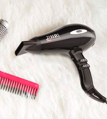 Review of JINRI Hair dryer Negative Ionic with Ceramic Tourmaline Technology
