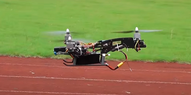 T-Trees Y3 Tricopter in the use