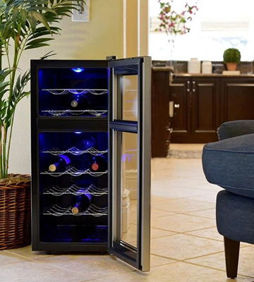 Review of Koldfront TWR181ES Dual Zone Freestanding Thermoelectric Wine Cooler